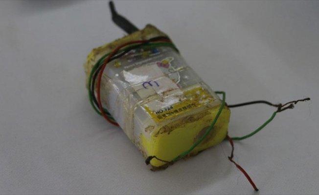 Terör operasyonunda kalemtıraşlı patlayıcı düzeneği ele geçirildi