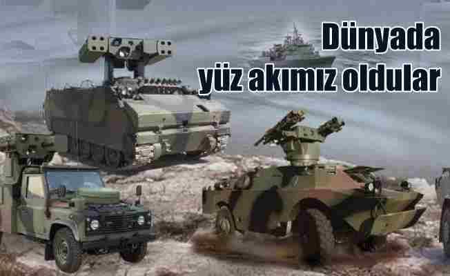 Türk savunma şirketleri 'en iyiler' arasında