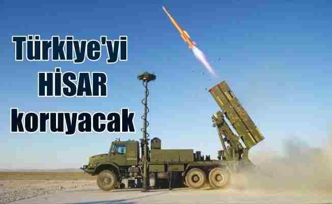 Türkiye'nin hava savunması milli füze sistemi Hisar'a emanet