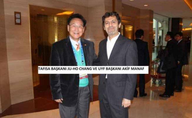 UYF Başkanı Akif Manaf 25. TAFISA Dünya Kongresi'nde