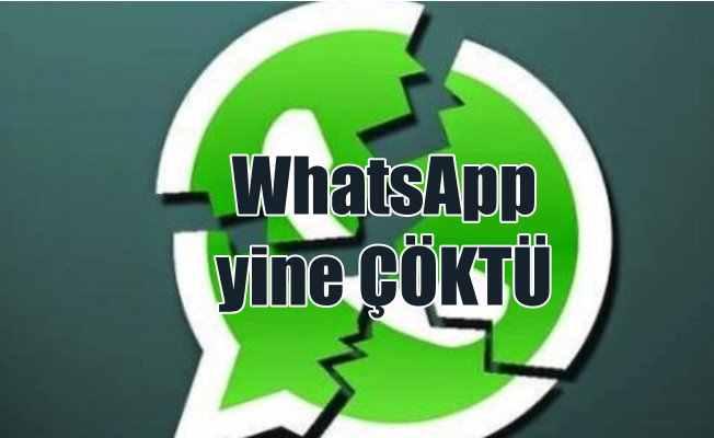 WhatsApp Çöktü, Yeni yıl mesajlarına dayanamayan WhatsApp servis dışı