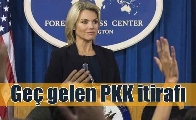 ABD'den Afrin için 'PKK' itirafı: Doğrudan PKK'lılar