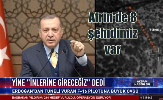 Afrin'de son durum;  Erdoğan 7 - 8 şehidimiz var, 268 terörist öldürüldü