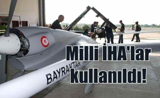 Afrin operasyonunda milli silahlar göğsümüzü kabarttı