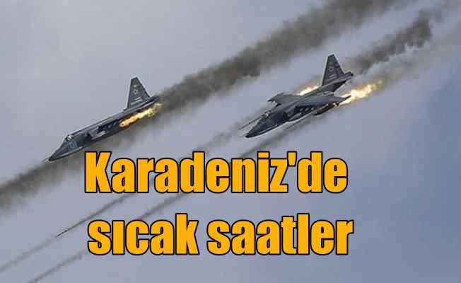 Amerikan savaş uçaklarına Rus jetleri izin vermedi