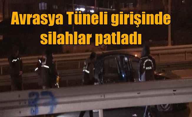 Avrasya Tüneli'nde şüpheli araç, ateş açılarak durduruldu, 1 ölü var
