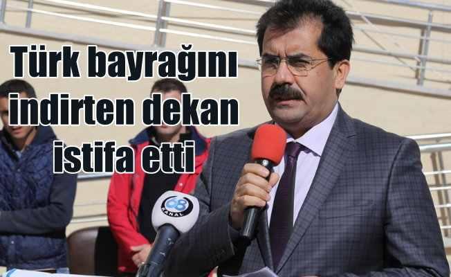 Bahaüddin Varol kendini ayetle savundu; Türk Bayrağını indirten dekan istifa etti
