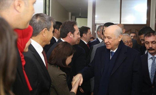 Bahçeli'den Osmaniye'de Belediye ve il başkanlığı ziyareti