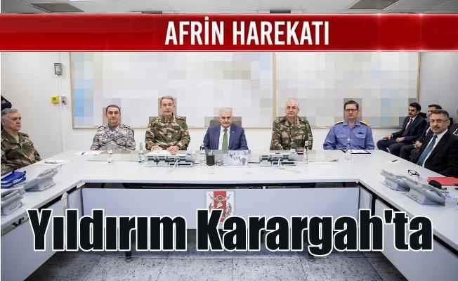 Başbakan Yıldırım Genelkurmay'da: Paşalar son durumu anlattı