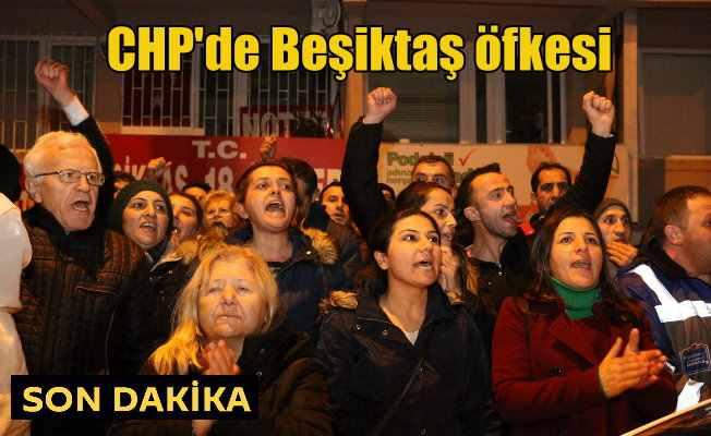 Beşiktaş Belediyesi önünde sert açıklamalar