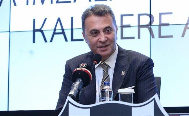 Beşiktaş Kulübü Başkanı Orman: Cenk Tosun'a Çin'den 35 milyon avro teklif geldi