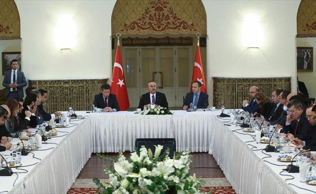 Çavuşoğlu 2018 için dış politika vizyonunu paylaştı