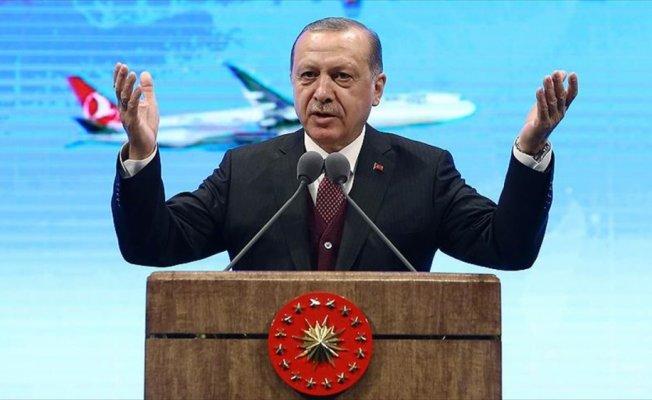 Erdoğan: THY'yi dünyanın en büyük filosu olmalı