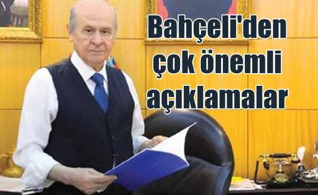 Devlet Bahçeli; MHP Cumhurbaşkanı adayı göstermeyecek