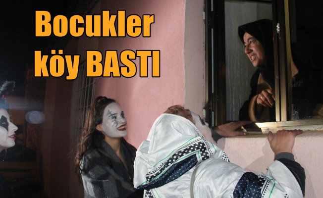 Edirne'de 'Bocuk Gecesi' şenliklerle kutlandı