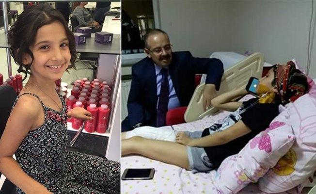 Erdoğan, kanser hastası Yağmur'la görüştü