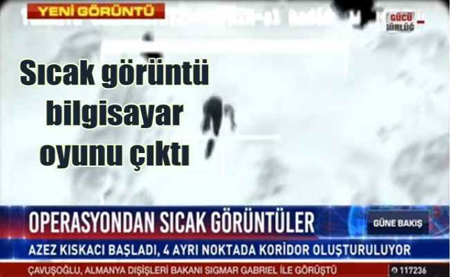 Habertürk, PKK operasyonu diye bilgisayar oyununu göstermiş