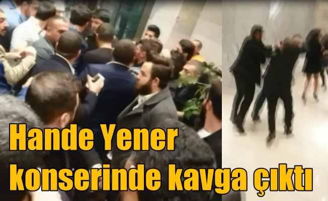 Hande Yener konserinde fazla bilet yüzünden kavga çıktı
