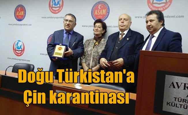 İsmail Cengiz: Çin yönetimi Doğu Türkistan'ı karantina altına aldı