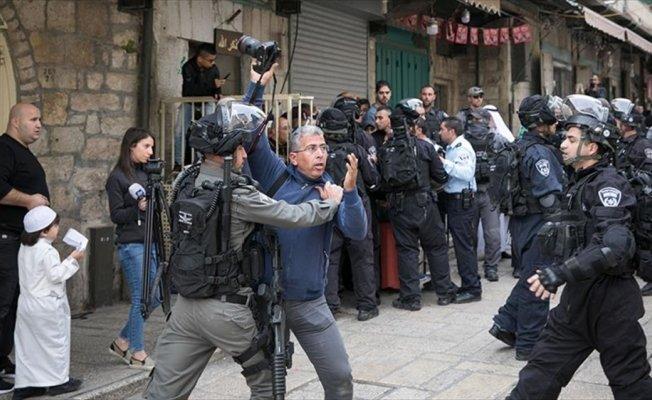 İsrail, 740 Filistinli gazetecinin hakkını ihlal etti