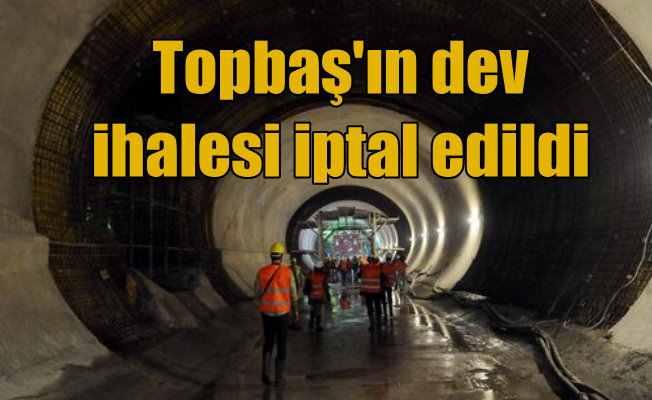İstanbul'da dev metro tüneli ihalesi iptal edildi