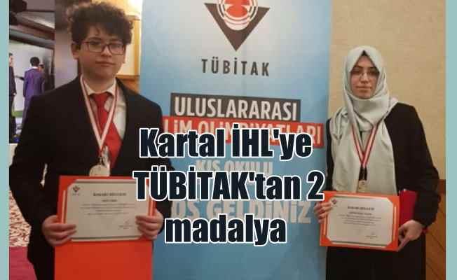 Kartal İmam Hatip Lisesi TÜBİTAK Bilim Olimpiyatları'ndan 2 madalya ile döndü