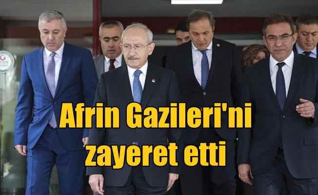 Kılıçdaroğlu'ndan Zeytin Dalı Harekatı gazilerine ziyaret