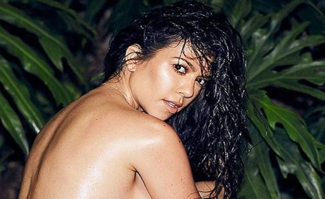 Kourtney Kardashian'dan çıplak misilleme