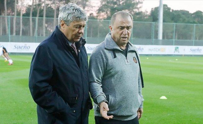 Lucescu'dan Galatasaray'ın Antalya kampına ziyaret