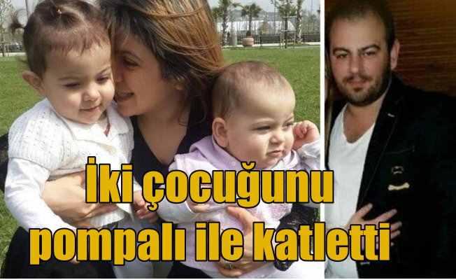 Maltepe'de baba cinnet getirdi, 2 çocuğunu katletti, canına kıydı