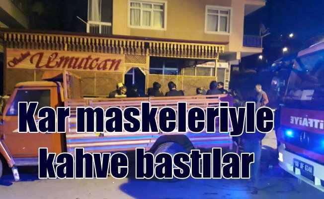 Mamak'ta kahvehanede çatışma, 1 ölü 4 yaralı var