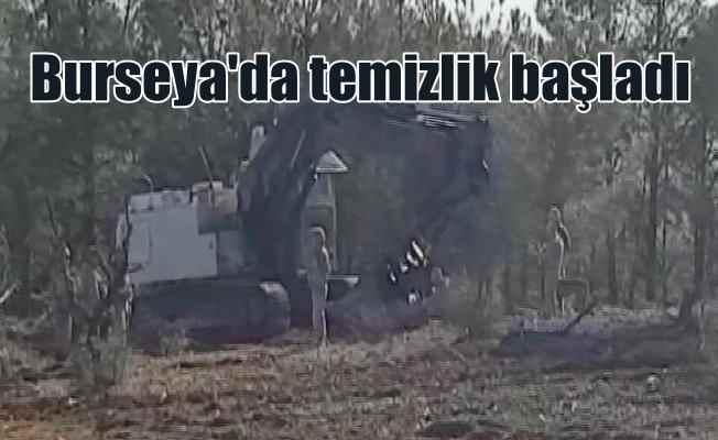 Mehmetçik Burseya Dağı'nda bubi tuzaklarını temizliyor