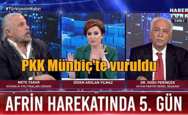 Münbiç'te PKK konvoyu vuruldu: Afrin'e gidiyorlardı