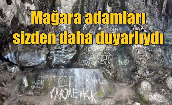 Nimara Mağarası perişan; 12 bin yıllık mağarayı magandalar istila etmiş