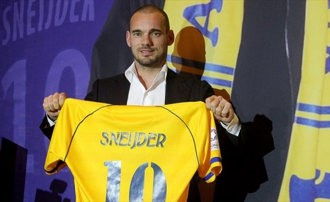 Sneijder basına tanıtıldı
