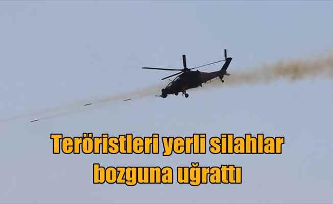 TSK teröristleri yerli silahlar bozguna uğrattı: Atak kalktı, Cirit vurdu