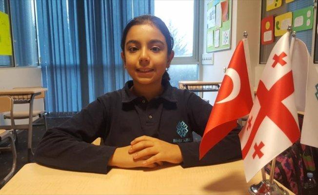 Tiflis'teki TMV okulunda Türkçe eğitime kavuştular