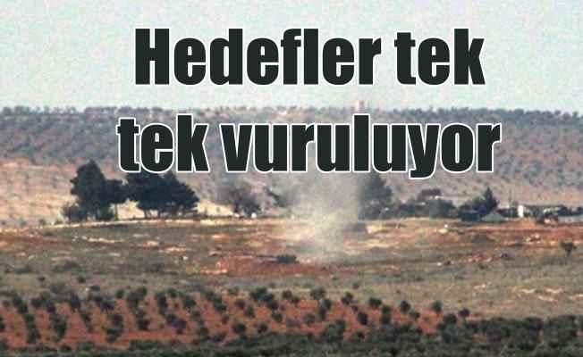 TSK Afrin'de PKK'nın kullandığı sığınakları vurdu