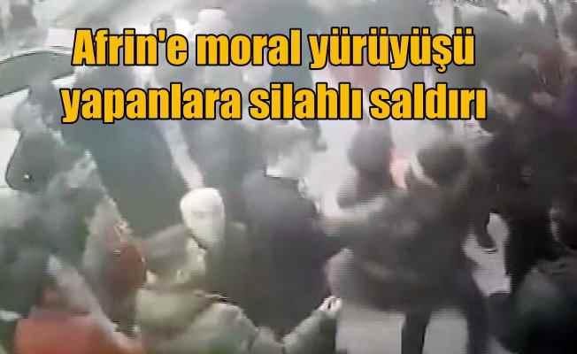 Zeytinburnu'nda provakasyon; Afrin gösterisine silahlı saldırı