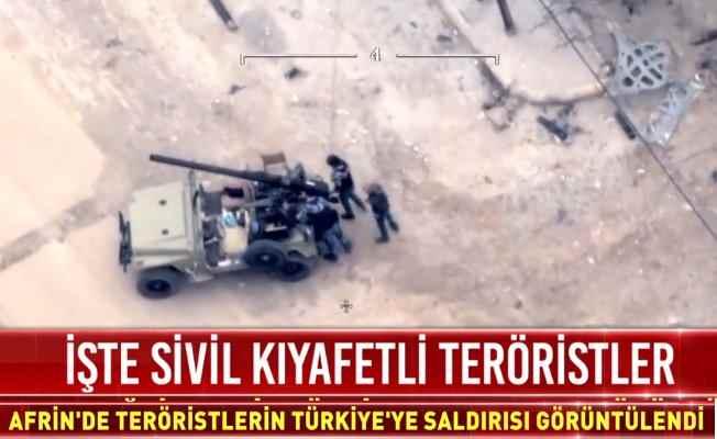 ABD silahlarıyla sivil kıyafetli teröristler görüntülendi