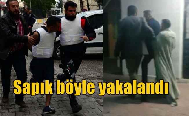 Adana sapığını mahalleli yarı çıplak yakaladı, linç etmeye kalktı