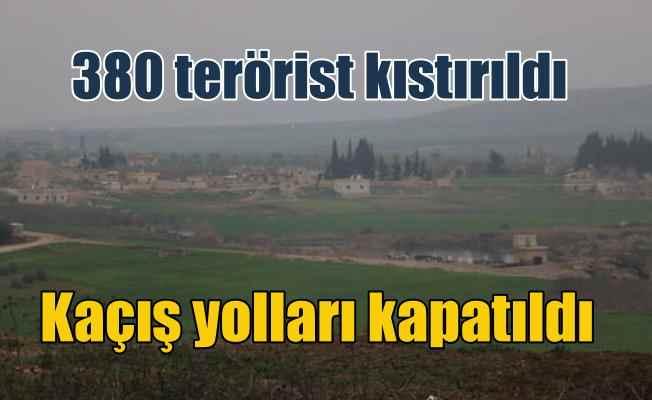 Afrin'de son durum; Özel Kuvvetler 380 teröristi kuşattı