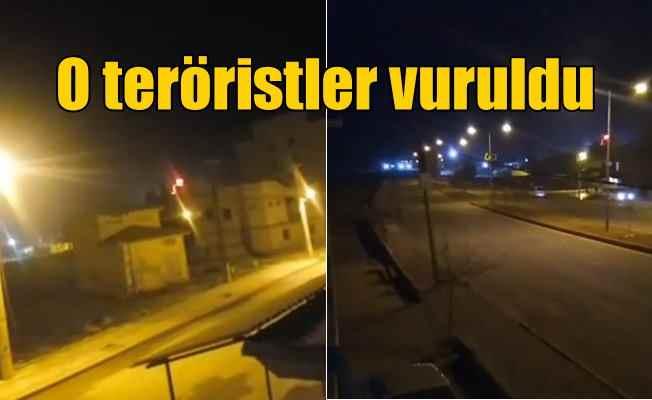 Akçakale'ye taciz ateşi açan teröristler öldürüldü