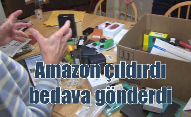Amazon'un bedave ürün gönderdiği aileyi korku sardı