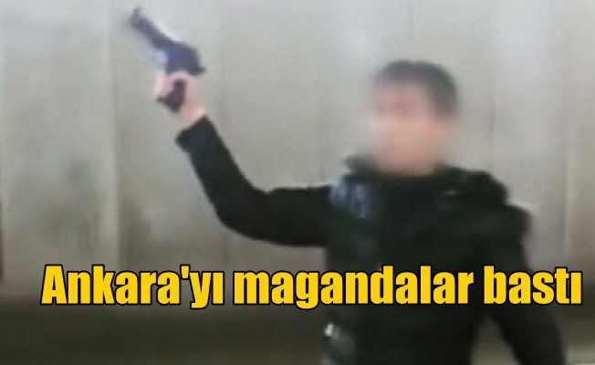 Ankara'nın göbeğinde maganda dehşeti