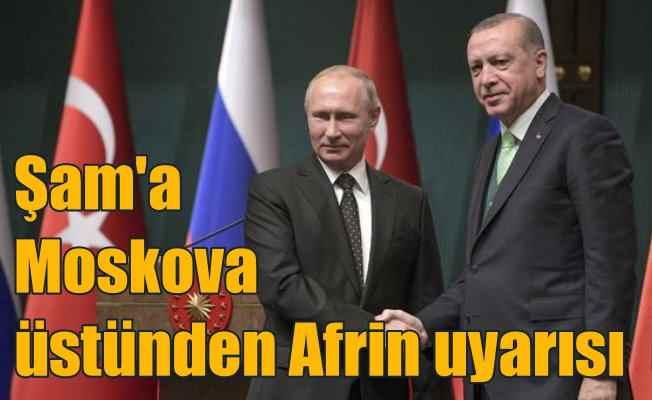Ankara, Şam yönetimini Moskova üstünden uyardı