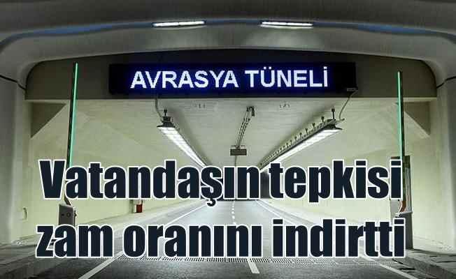 Avrasya Tüneli zammında geri adım | Tepkiler artınca indirim geldi