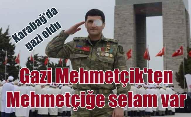 Azerbaycanlı gaziden Afrin'deki Mehmetçik'e destek
