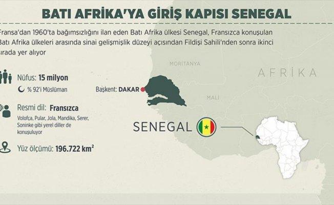 Batı Afrika'ya giriş kapısı Senegal