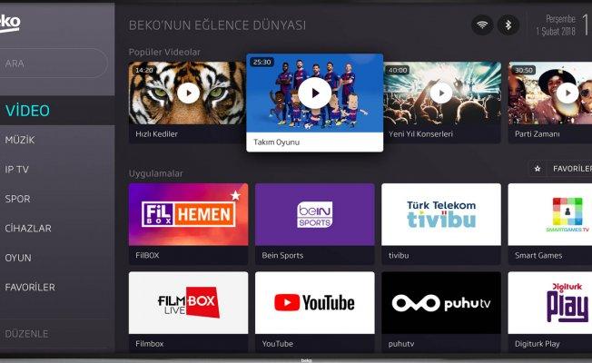 Beko'dan Türkçe sesli komutlu tv
